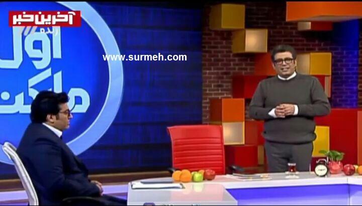 فیلم غش کردن رضا رشیدپور در برنامه حالا خورشید