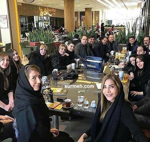 چه کسانی در مراسم ختم پدر نیوشا ضیغمی حضور داشتند + فیلم