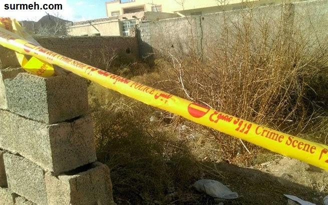 قتل و تیکه کردن دختر افغانی در کرمان + عکس