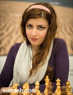 کشف حجاب درسا درخشانی دختر شطرنج باز ایرانی + عکس
