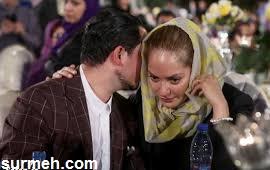 یاسین رامین همسر مهناز افشار از زندان اوین آزاد شد + عکس